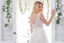 Bridal Dresses & Gowns / Beautiful, elegant wedding dresses including designs from Wendy Makin, Linea Raffaelli & Bella Donna. Let the pinning begin!