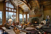 Mountain Home Ideas / by Diane Heimstaedt
