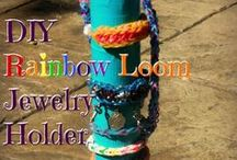 + Catholic Rainbow Loom Projects + / Find Catholic Rainbow loom inspiration here!  From bracelets to charms to jewelry holders and organizers!