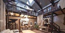Industrial Loft / #Стиль #лофт в интерьере   #interior #design #интерьер #дизайн #home #loft