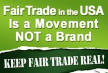 Fair Trade Movement / Wikipedia: Fair trade is an organized social movement whose stated goal is to help producers in developing countries achieve better trading conditions and to promote sustainability. Members of the movement advocate the payment of higher prices to exporters, as well as higher social and environmental standards.