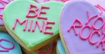 Valentines Day / Valentines Day recipe ideas to cook up a special meal for your special someone. Edible treat gift ideas inspired by cupid.
