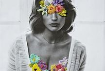 Human Collages / Collages with a hint of mixed media art
