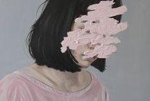 Henrietta Harris Acrylic Smears
