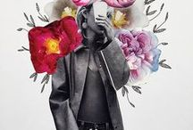 Flower Collages