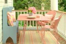 Porches and patios / by Barbara Wedderman