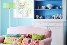 My Style Pinboard / My decorating style for a colorful home, and so much more. / by Barbara Wedderman