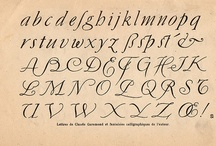 Letters: alphabets & correspondence. / I couldn't decide if this was for typography or poems and things so now it's both.