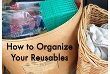 Organization / Organizing, downsizing, minimizing our stuff. #declutter #minimalist #organization / by Green Bean