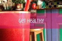 Get Healthy / A collection of personal stories to inspire getting healthier, plus tips, exercises and more / by d travels round