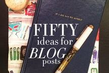 Blog and Web Resources / Tips and elements for blogs and websites aka a lot of free stuff. / by Maria Aldrey