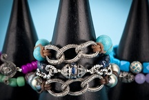 Mina Danielle Bracelets / Mina Danielle designs custom macrame and stretch beaded bracelets, using materials such as diamonds, pearls, precious stones, skulls, buddhas, and jewels-- oh my! www.ShopMinaDanielle.com