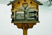 Bird cages and houses / by Kat