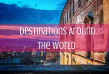 Destinations Around the World / A look at destinations around the world, including tourist spots, off-the-beaten path discoveries and more. / by d travels round