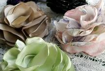 Flores de tecido  ✿