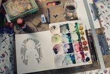 - Draw me Something - / Like a sheep or a cloud.