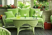 Shades of apple green  / by Barbara Wedderman