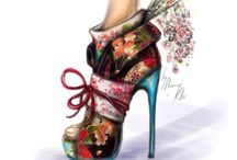 Shoes / A woman can carry a bag but it is the shoe that carries the woman. / by Leylim Ley