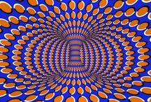 Optical Illusions / Optical Illusion: false visual perception; a visual experience in which there is some kind of false perception of what is actually there / by Becky Reese