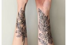 - Drawings on skin - / 'Cause they're cool.