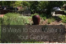 Water Conservation / Stylish ways to save a drop or two. / by Green Bean