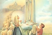 Bless us Mother Mary / Devotion to Mary and the rosary / by Verna Klopfenstein