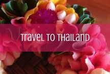 Travel to Thailand / Posts about visiting Thailand from Thailand travel experts! Plan your trip starting here! / by d travels round