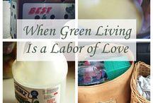 Green Living / by Green Bean
