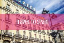 Travel to Spain / Everything you need to know about travel to Spain. / by d travels round