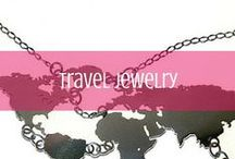 Travel Jewelry / A collection of travel-themed jewelry from around the web / by d travels round