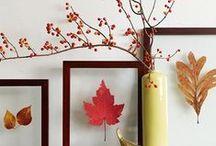 Crafts : autumn DIY