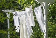 Clean and Fresh / Should the day be warm and fine, hang the clothes upon the line.  / by Barbara Wedderman