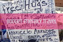 Budget Friendly Travel / Yes, you need money to travel. No, you don't need to be rich. #budget #travel #tips / by d travels round