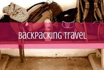 Backpacking Travel / Strap on that backpack and go! Backpacking packing tips, resources and more. / by d travels round