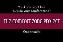 The Comfort Zone Project / A collection of personal essays from writer Diana Edelman as she gets out of her comfort zone. Featuring honest accounts of trials, triumphs and travel. / by d travels round