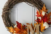 Give Thanks. / Decor and cute thanksgivingy stuff.