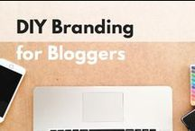 DIY Branding / Branding on a budget? Check out these tips for DIY-ing your own branding.