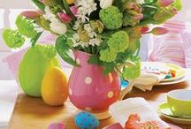 Easter Brunch / Easter decor and recipe ideas