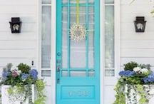 The Front Door / Dress up your entry with these products and decor ideas