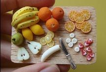 f4 / miniature food, fake Food / by hine_bomb