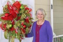 Mesh Swag Wreath / by Nancy Wiseman
