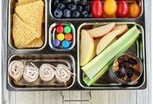Kids Lunch Box & School Tips / Ideas for the kids school lunch box, storage tips, cleaning tips, lunch notes, school hairstyles it is all here