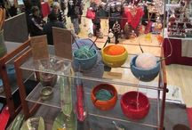 Holiday Art Fair / Meet more than 40 artists offering an array of fanciful jewelry,  glass, fiber & wearable art, sculpture, punch needle &  weaving, furniture, multimedia paintings, drawings, etchings, photography, ceramics, yard art & much more.                       Join us December 5-7, 2014!