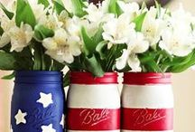 The 4th of July! / 4th of July fun! Food and decoration inspiration.
