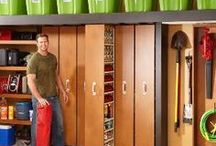 Home Garage Ideas / Garage storage and organisation ideas, including an office space