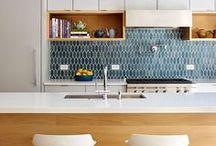 Kitchen Design & Storage / Ideas for kitchen storage and designs that I like