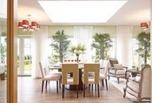 Dining Rooms / Whether you're entertaining or simply enjoying dinner with the family, make sure you eat in style...