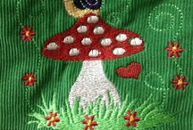 Sew along von Stoff und Liebe / Kindergartentasche aus Cord und Baumwolle