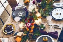 Tabletop Inspiration / Tabletop Inspiration for all seasons and occasions!