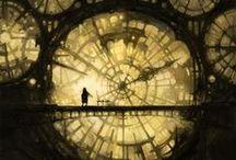 Rusty clockwork -  Steampunk / steampunkish inspiration.